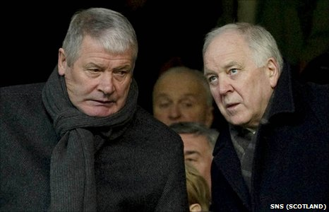Archie Knox and Craig Brown