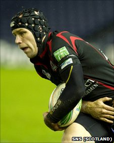 Simon Webster made a try-scoring return for Edinburgh
