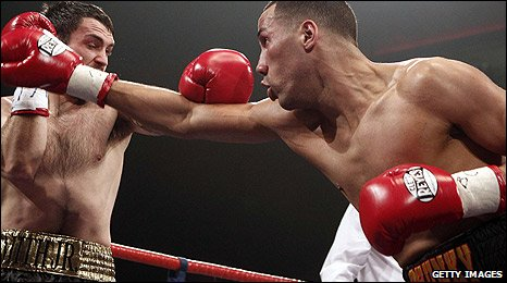 Paul Smith and James DeGale