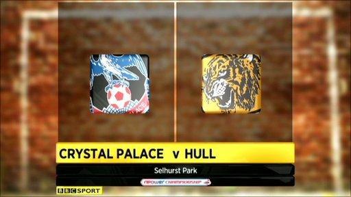 Crystal Palace 0-0 Hull City