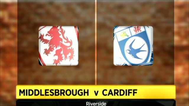 Middlesbrough 1-0 Cardiff