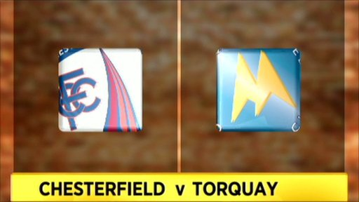 Chesterfield v Torquay