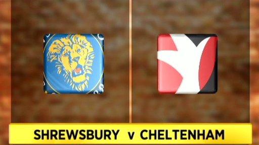 Shrewsbury v Cheltenham