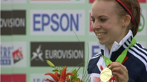 Charlotte Purdue wins Gold