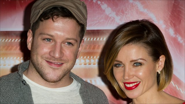 Matt Cardle and Danii Minogue