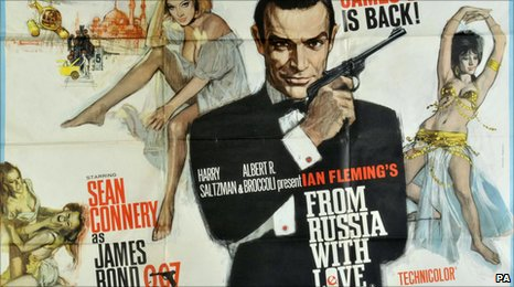 James Bond film poster