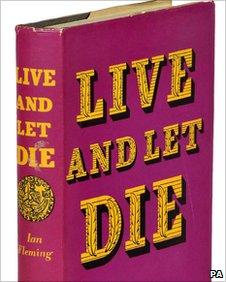 First edition James Bond book