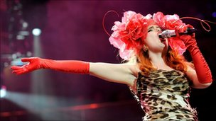 Singer Paloma Faith performs at The Prince's Trust Rock Gala 2010