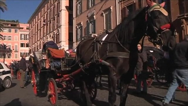 Horse drawn carriage