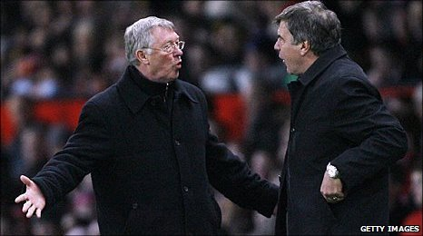 Sir Alex Ferguson and Sam Allardyce