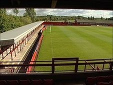 llkeston Town's New Manor Ground