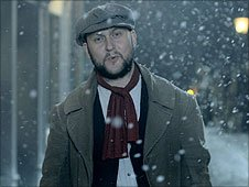 Leigh Haggerwood in the video of 'My Favourite Time of Year'