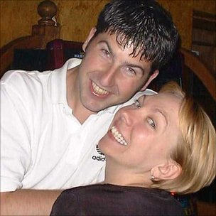Samantha Badham, with partner Lee Harris