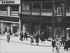 Walsh's on High Street in the 1950s