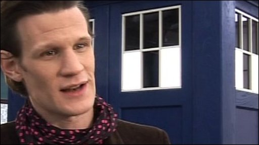 Matt Smith who plays Doctor Who talks about the Christmas Special