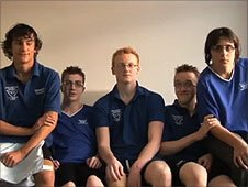 The film makers from Colchester Phoenix Amateur Swimming Club