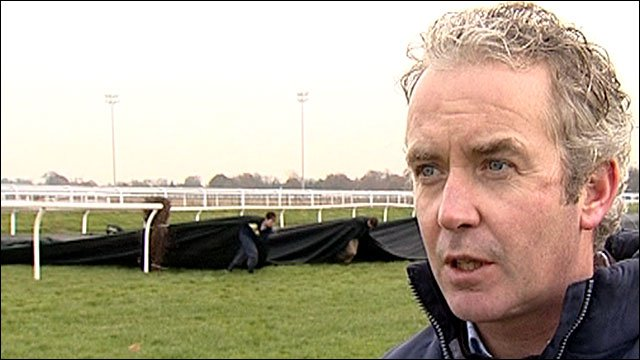 Kempton clerk of the course Brian Clifford
