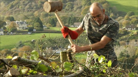 Work at Woodah Farm - Devon Wildlife Trust