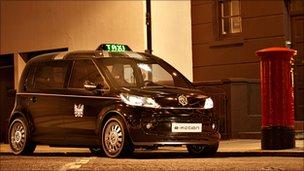 Volkswagen's London taxi concept