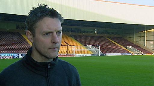 Motherwell defender Stephen Craigan