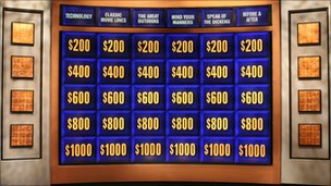 board from jeopardy