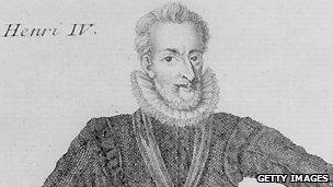 Image of Henri IV, circa 1600