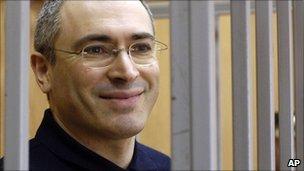 Mikhail Khodorkovsky (24 May 2005)