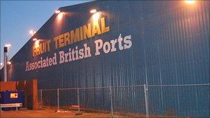 Southampton port terminal