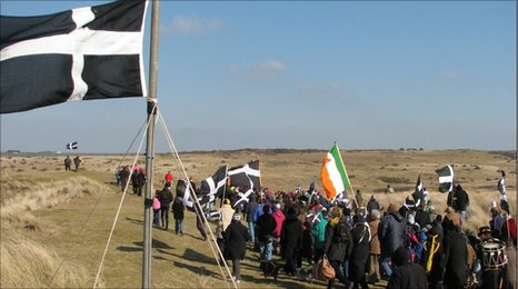 St Piran's Day celebrations