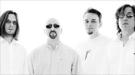 Porcupine Tree: Steven Wilson, Colin Edwin, Gavin Harrison and Richard Barbieri