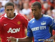 Chris Smalling and Teal Bunbury