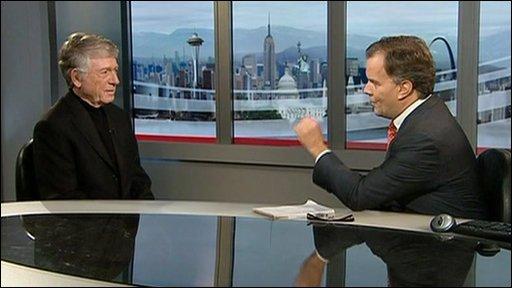 Contributing analyst Ted Koppel talks with Matt Frei.
