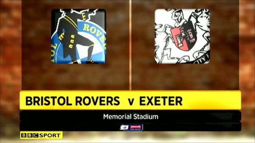 Bristol Rovers 2-2 Exeter