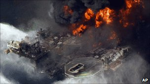 US sues BP for oil spill