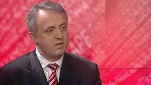 Dr Muhamet Hamiti, Kosovo ambassador to UK