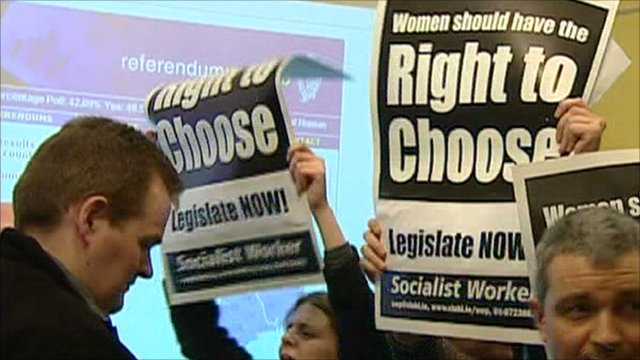 'Right to choose' posters