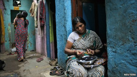 Indian micro-credit holder