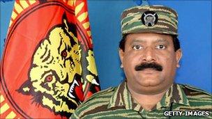 Slain rebel leader Velupillai Prabhakaran