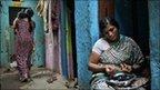 A microfinance borrower in India