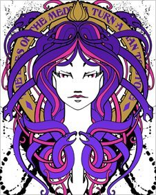 Medusa by Inkie