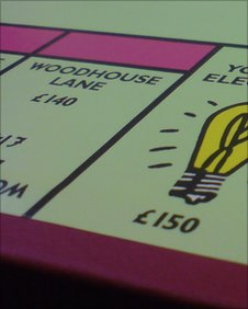 Leeds Monopoly board
