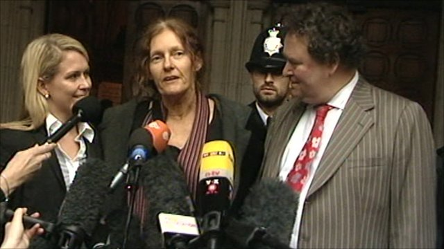 Christine Assange welcomes son's release