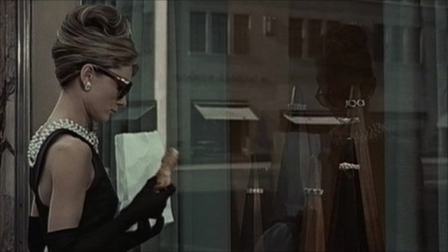 Scene from Breakfast at Tiffany's