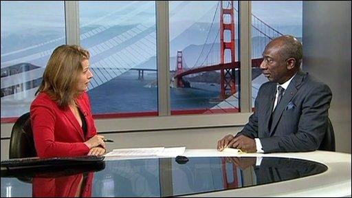 Ivory Coast ambassador to US, Charles Koffi