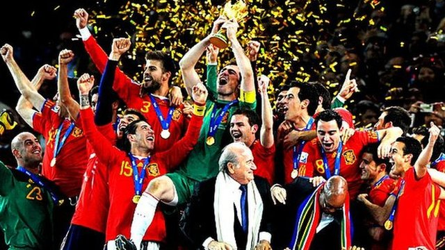 Spain lift the World Cup