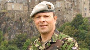 edinburgh military tattoo unveils new chief bbc news
