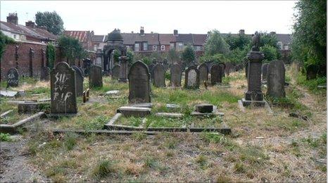 Deane Road cemetery