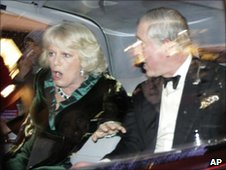 The Duchess of Cornwall and Prince Charles had an uncomfortable time on their way to an engagement