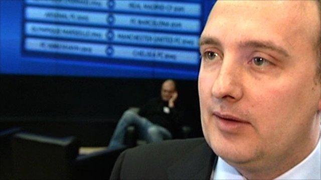 Tottenham secretary Darren Eales