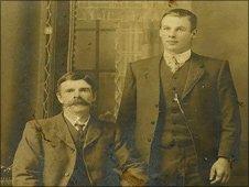 Samuel Farlow (right)
